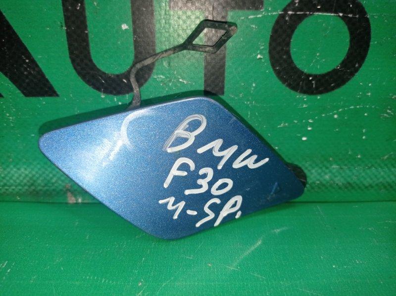 Заглушка буксировочного крюка m-paket Bmw 3 F30 2011 передняя (б/у)