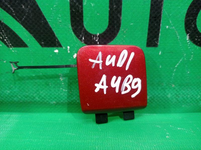 Заглушка бампера Audi A4 B9 2015 задняя (б/у)