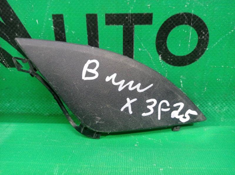 Заглушка бампера Bmw X4 F26 2014 передняя (б/у)