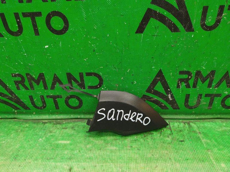 Заглушка буксировочного крюка Renault Sandero Stepway 2 2014 (б/у)