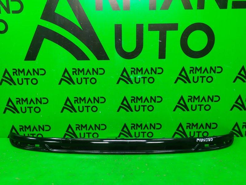 Накладка бампера Ford Mondeo 5 2014 задняя (б/у)