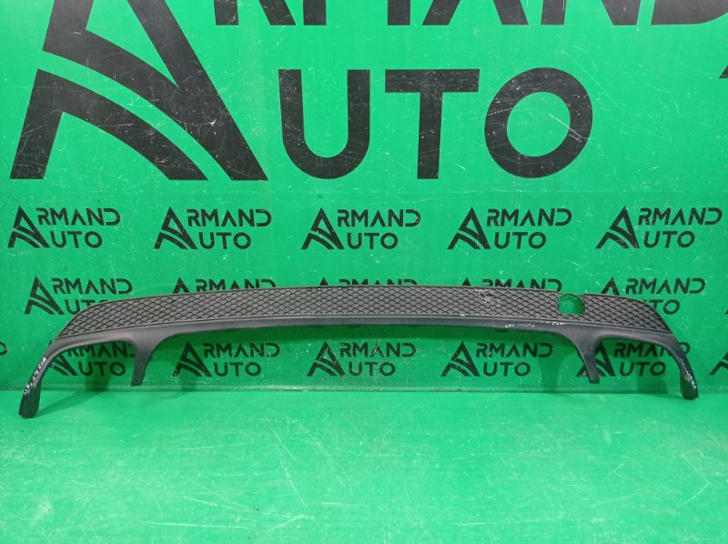 Юбка бампера amg Mercedes Cla C117 2013 задняя (б/у)