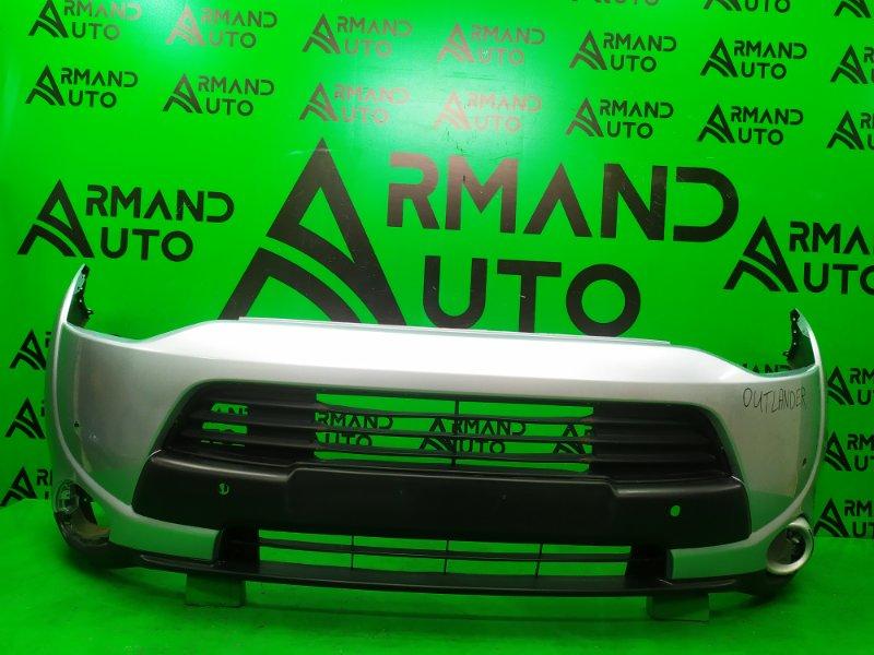 Бампер Mitsubishi Outlander 3 2012 передний (б/у)