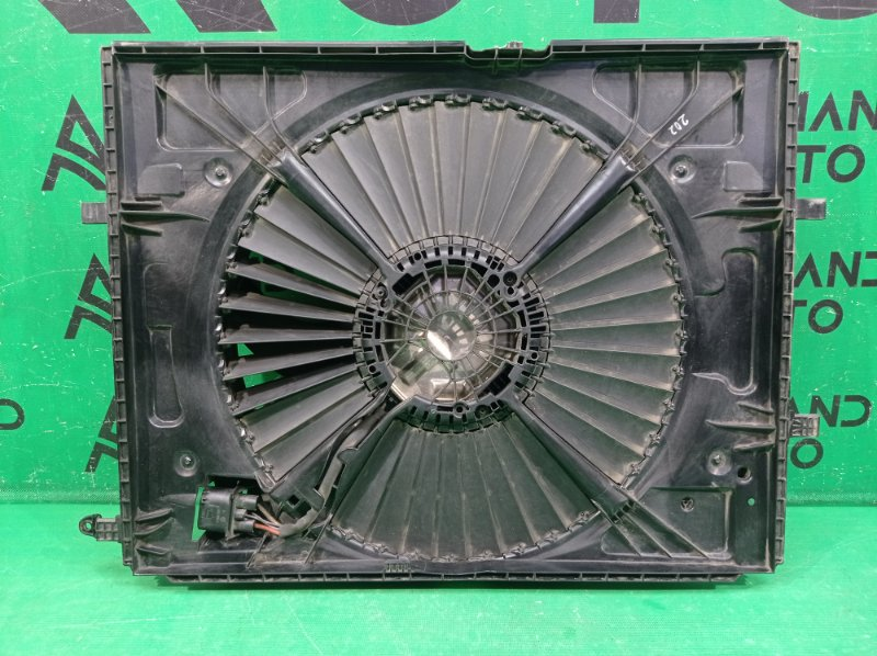 Вентилятор радиатора Mercedes Glc X253 2015 (б/у)