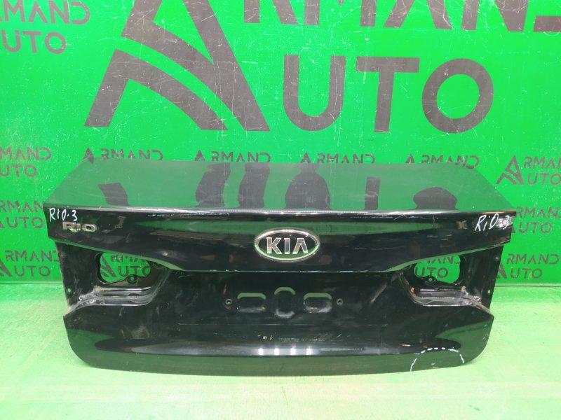 Крышка багажника Kia Rio 3 2011 (б/у)