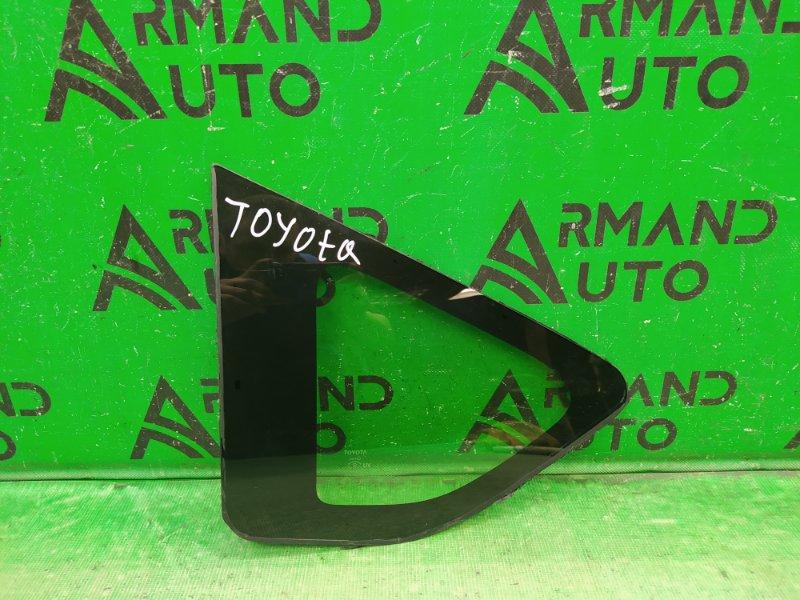 Форточка Toyota Rav4 CA40 2012 задняя левая (б/у)