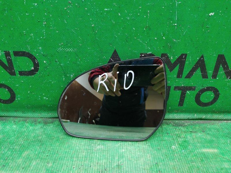 Зеркальный элемент Kia Rio 3 2011 левый (б/у)