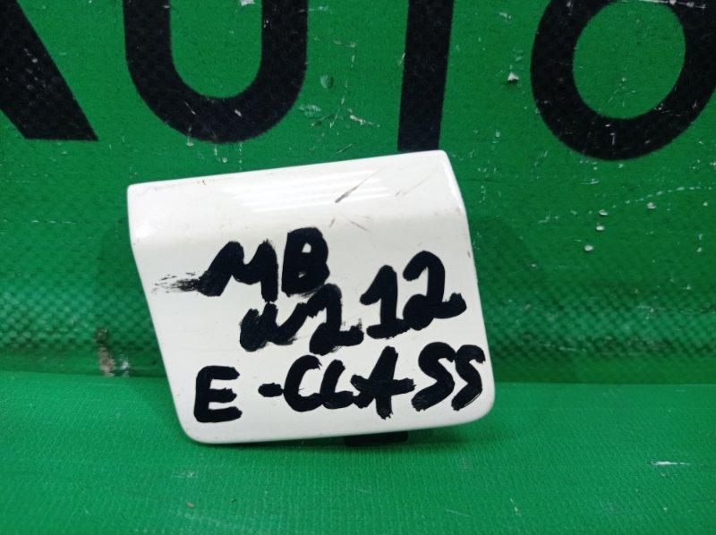 Заглушка бампера Mercedes E W212 2013 задняя (б/у)