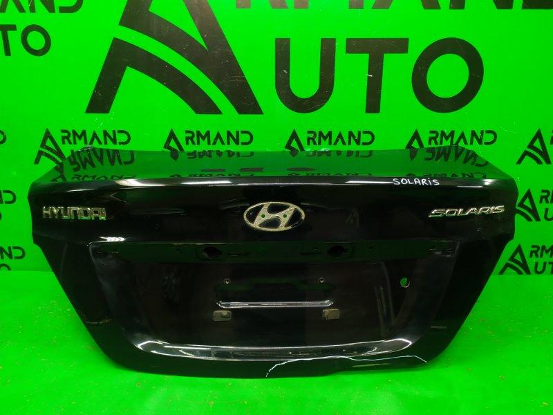Крышка багажника Hyundai Solaris 1 2010 (б/у)