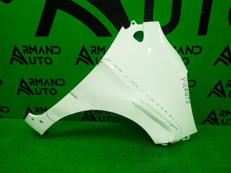 Крыло Kia Picanto 2 2011 переднее правое (б/у)