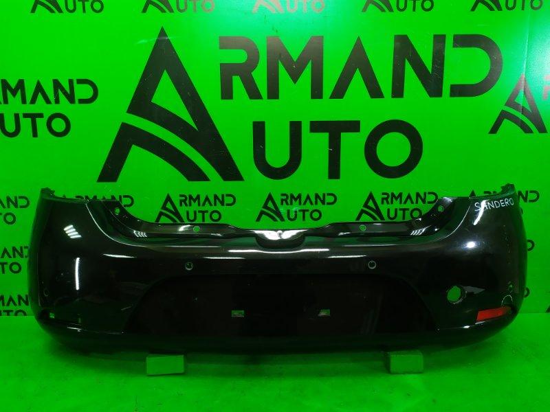 Бампер Renault Sandero 2 2014 задний (б/у)