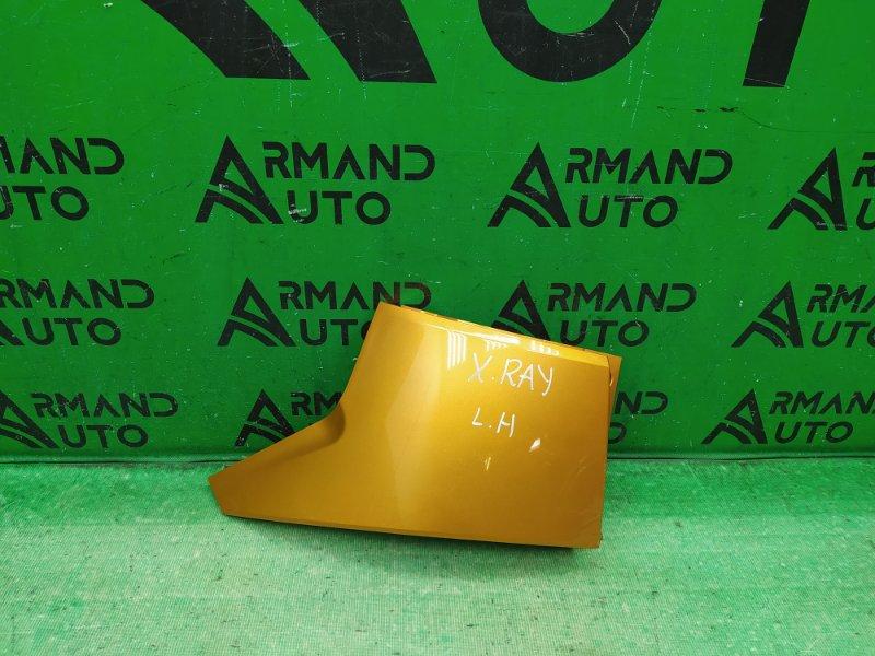 Накладка бампера Lada X-Ray CROSS 2015 задняя левая (б/у)