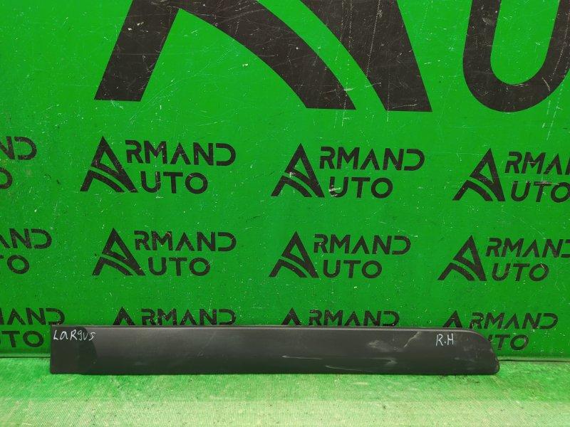 Накладка двери Lada Largus 2012 задняя правая (б/у)