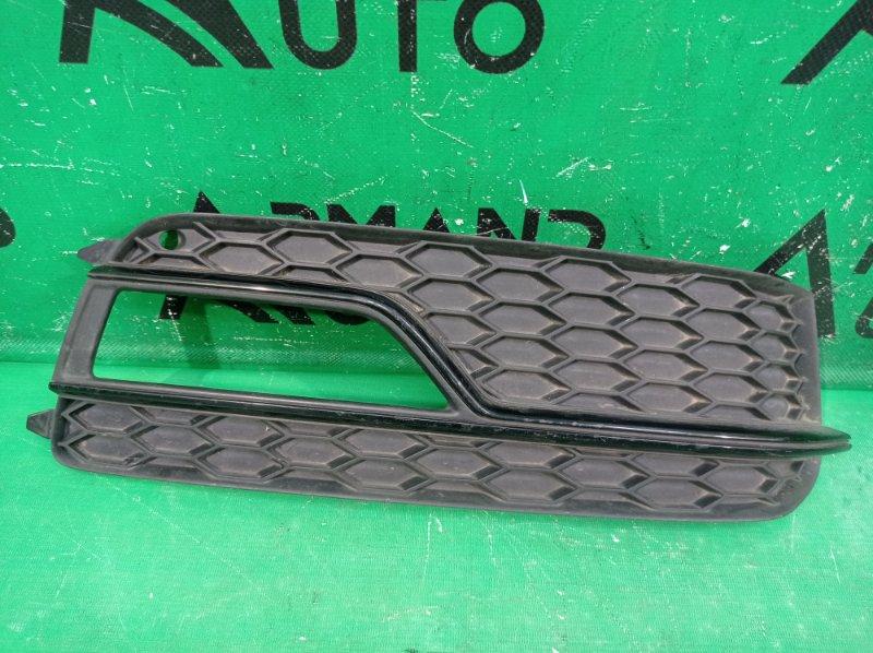 Накладка птф s-line Audi A5 8T 2011 передняя правая (б/у)