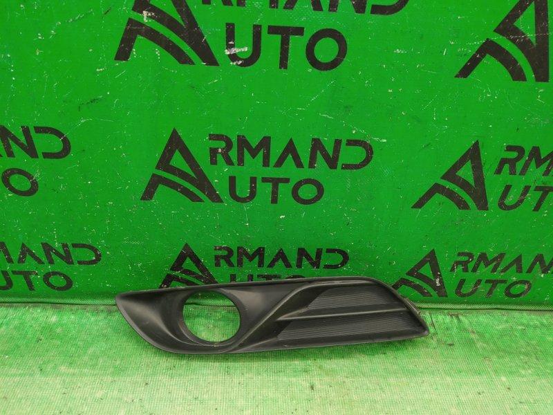 Накладка птф Nissan Sentra B17 2012 левая (б/у)