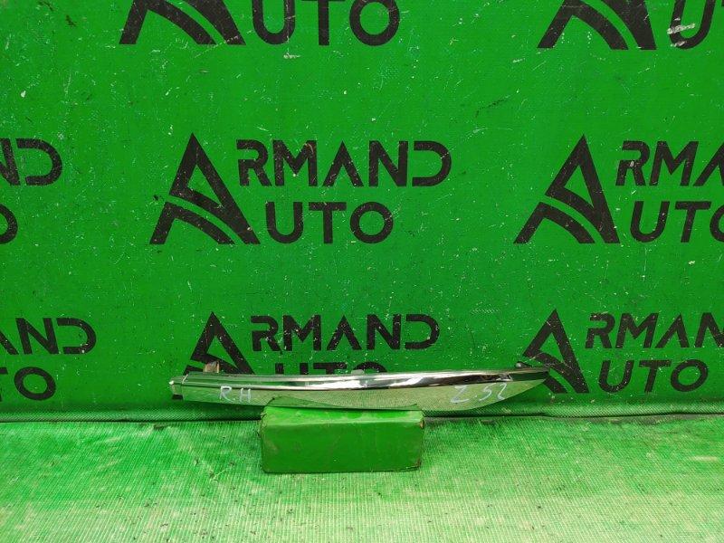 Накладка бампера Nissan Murano Z52 2014 задняя правая (б/у)