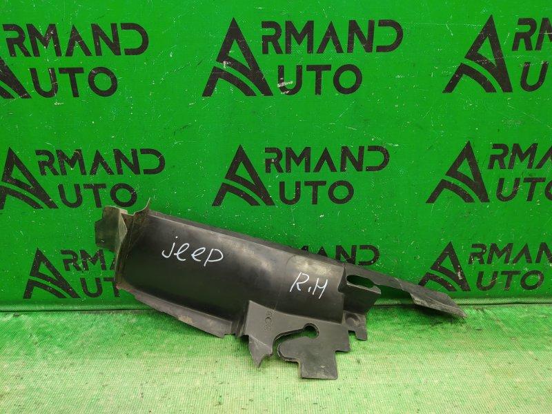 Дефлектор радиатора Jeep Grand Cherokee WK2 РЕСТАЙЛИНГ 2013 правый (б/у)