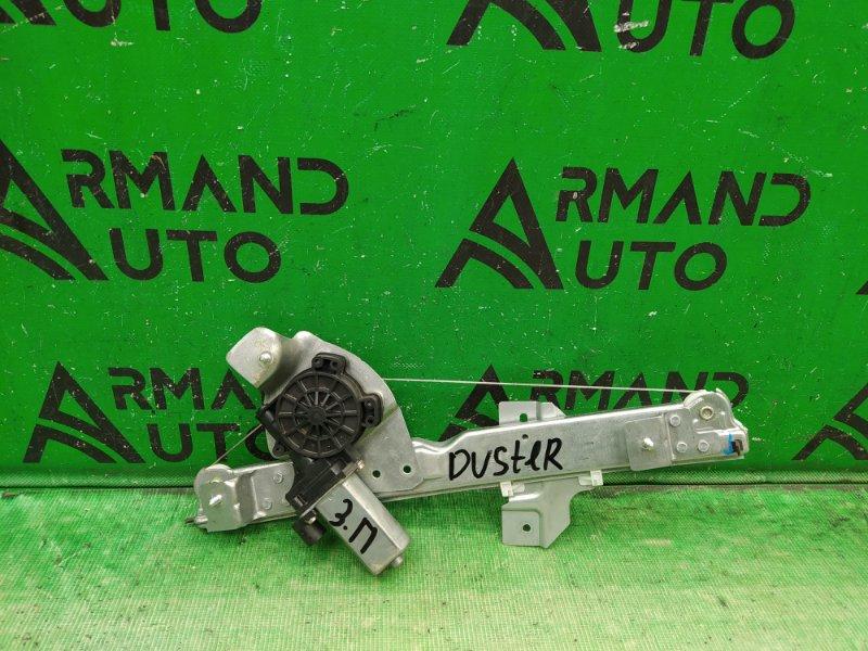 Стеклоподъемник Renault Duster 2010 задний правый (б/у)
