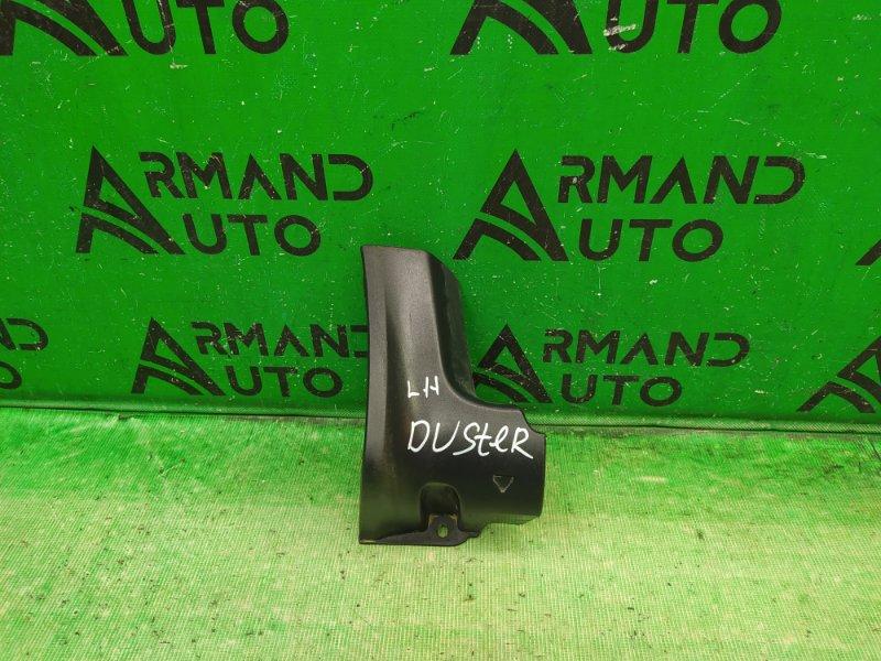 Накладка порога Renault Duster 2010 левая (б/у)