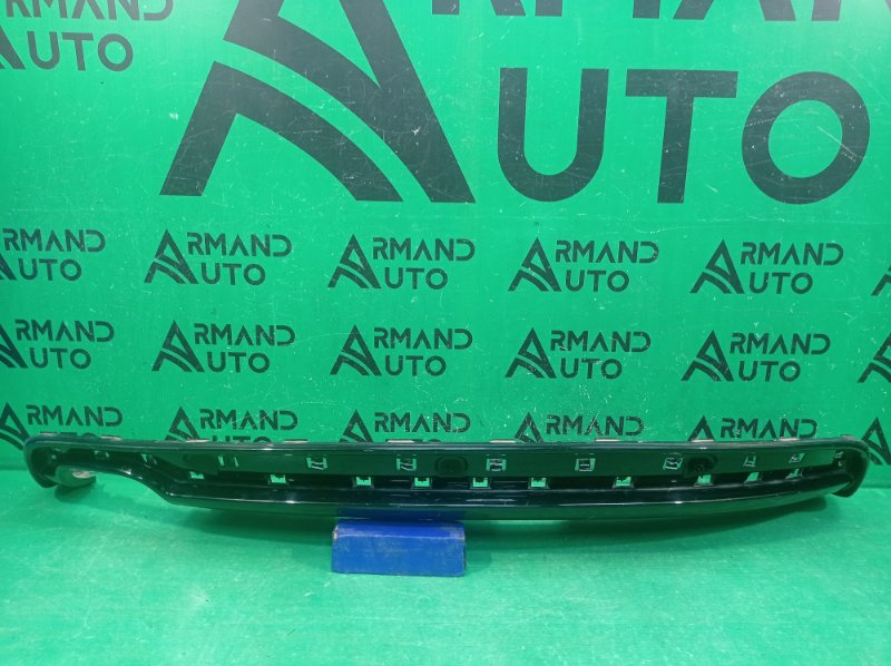 Юбка бампера s-line Audi A5 8T 2011 задняя (б/у)