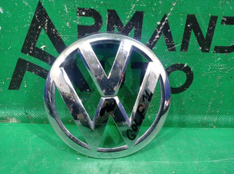 Эмблема Volkswagen Golf 7 2012 передняя (б/у)