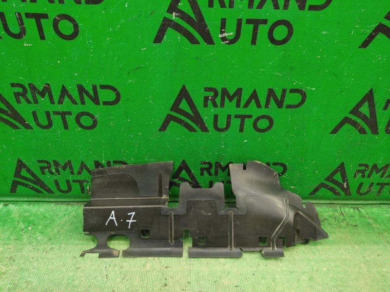 Дефлектор радиатора Skoda Octavia A7 2013 правый (б/у)