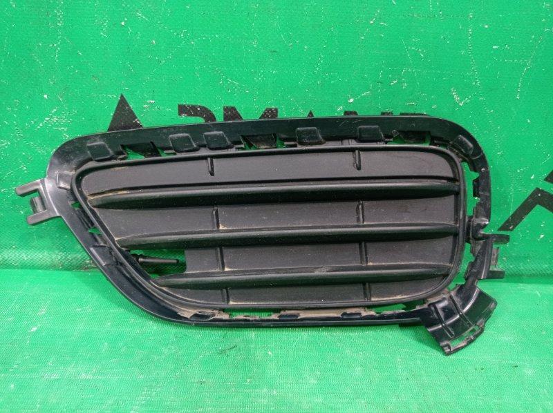 Решетка бампера Bmw X3 F25 2010 передняя левая (б/у)
