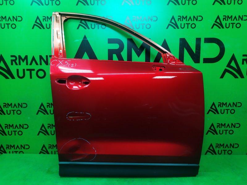 Дверь Mazda Cx-5 Cx5 2 2017 передняя правая (б/у)