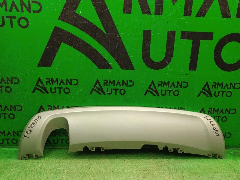 Юбка бампера Nissan Terrano 3 2014 задняя (б/у)