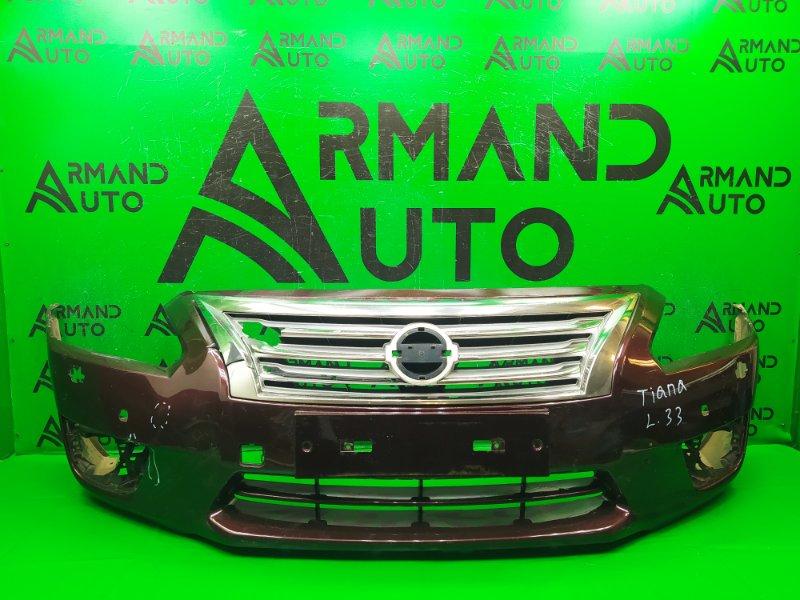 Бампер Nissan Teana L33 2014 передний (б/у)