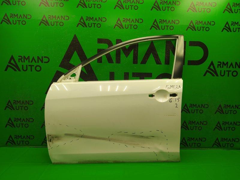 Дверь Nissan Almera G15 2013 передняя левая (б/у)