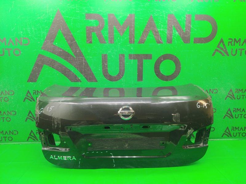 Крышка багажника Nissan Almera G15 2013 (б/у)