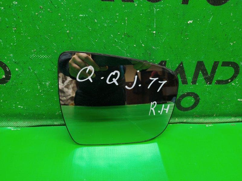 Зеркальный элемент Nissan Qashqai J11 2013 правый (б/у)