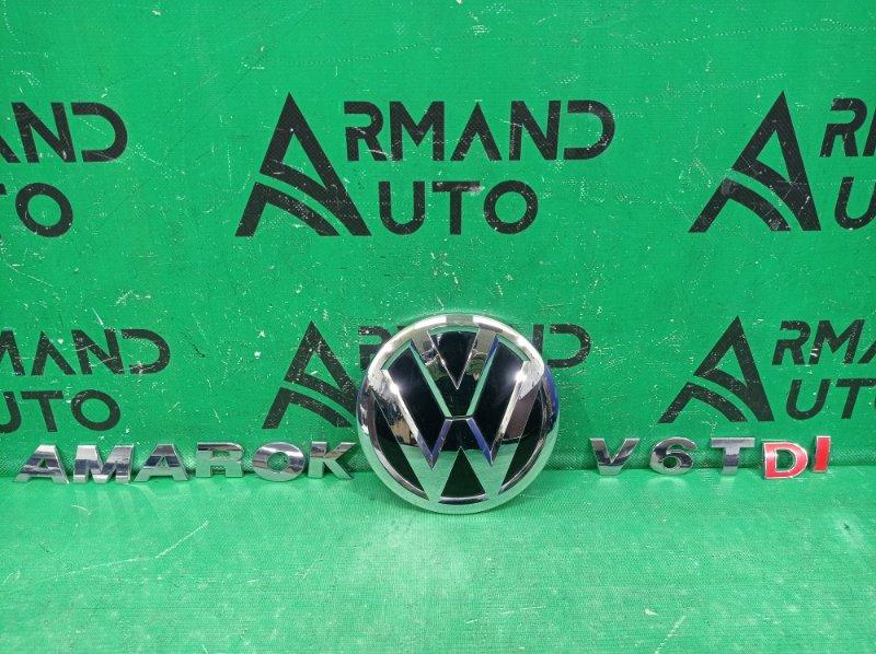 Эмблема Volkswagen Amarok 2010 задняя (б/у)