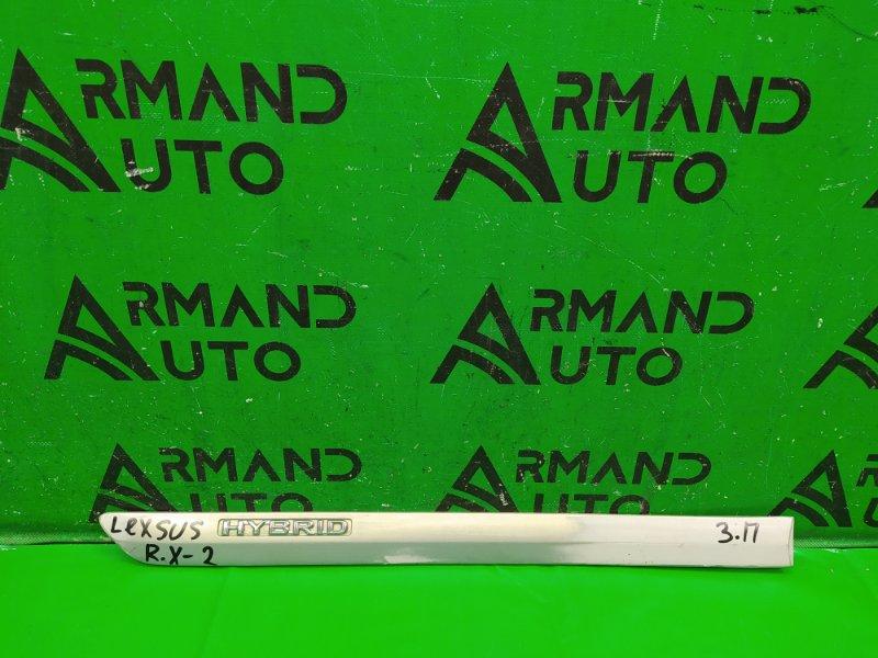 Накладка двери Lexus Rx 2 2003 задняя правая (б/у)