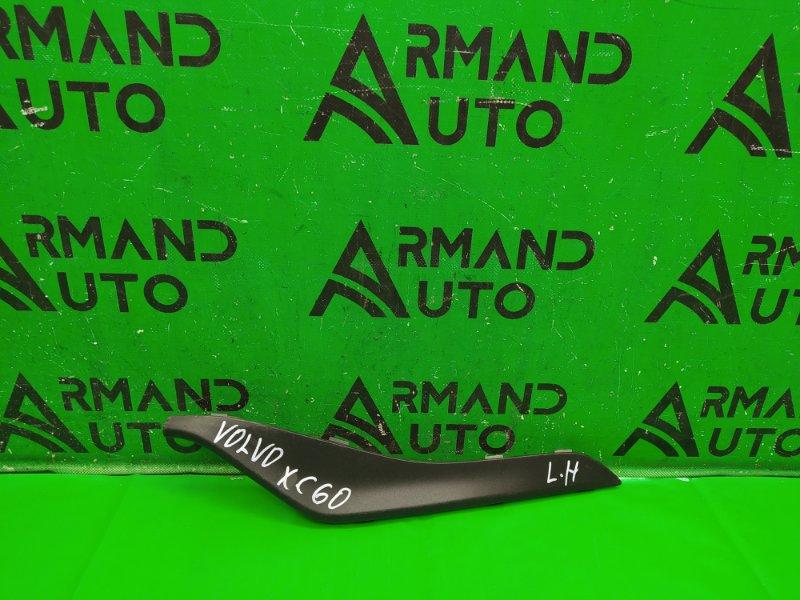 Накладка бампера Volvo Xc60 1 РЕСТАЙЛИНГ 2013 передняя левая (б/у)