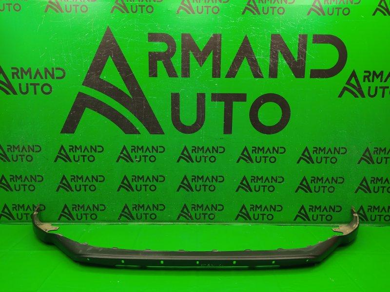 Юбка бампера Toyota Rav4 CA40 РЕСТАЙЛИНГ 2015 передняя (б/у)