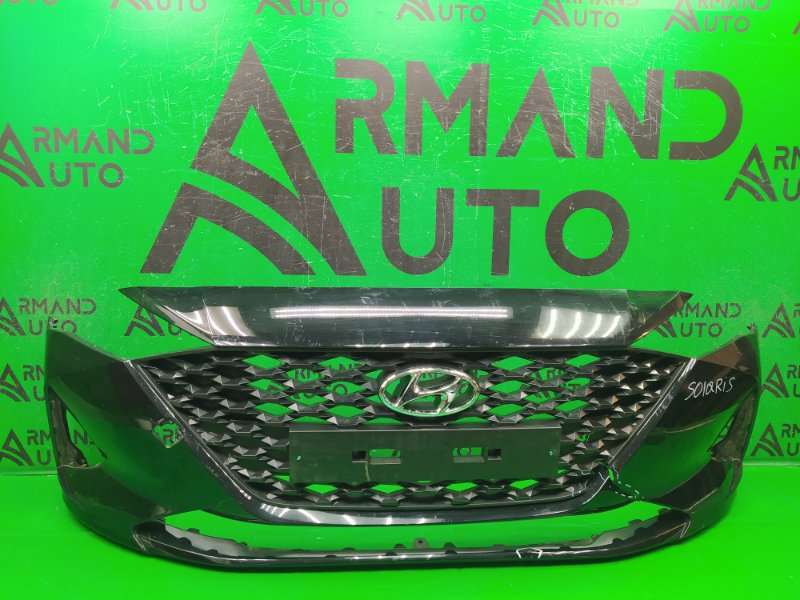 Бампер Hyundai Solaris 2 РЕСТАЙЛИНГ 2020 передний (б/у)