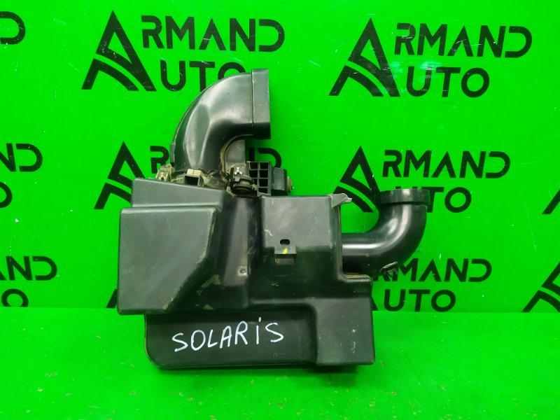 Резонатор воздушного фильтра Hyundai Solaris 1 2010 (б/у)