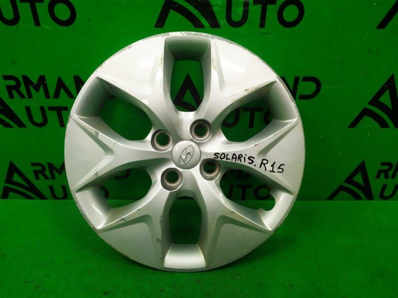 Колпак колесный r15 Hyundai Solaris 1 2010 (б/у)