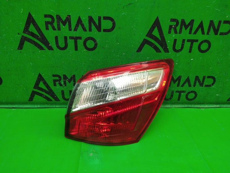 Фонарь внешний Nissan Qashqai J10 РЕСТАЙЛИНГ 2010 левый (б/у)