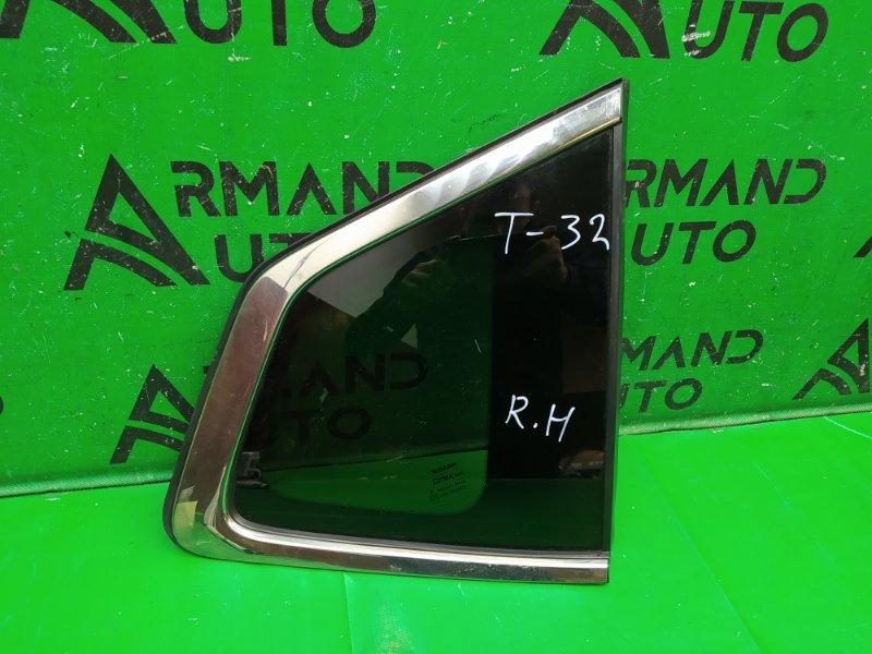 Стекло Nissan X-Trail T32 2015 правое (б/у)