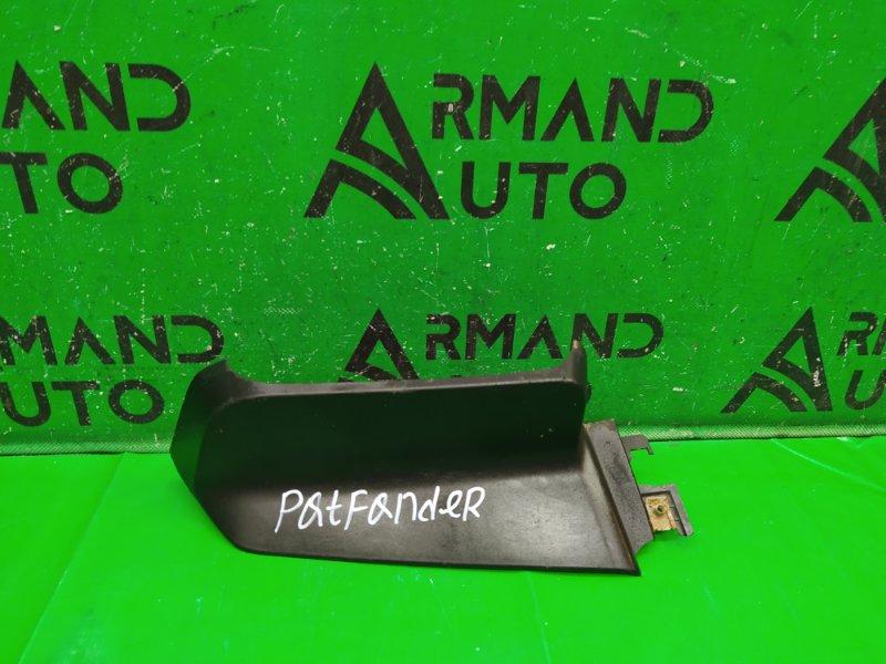 Накладка бампера Nissan Pathfinder R51 2004 передняя левая (б/у)