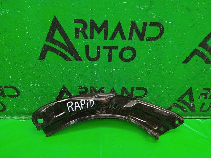 Кронштейн передней панели Skoda Rapid 2012 передний правый (б/у)
