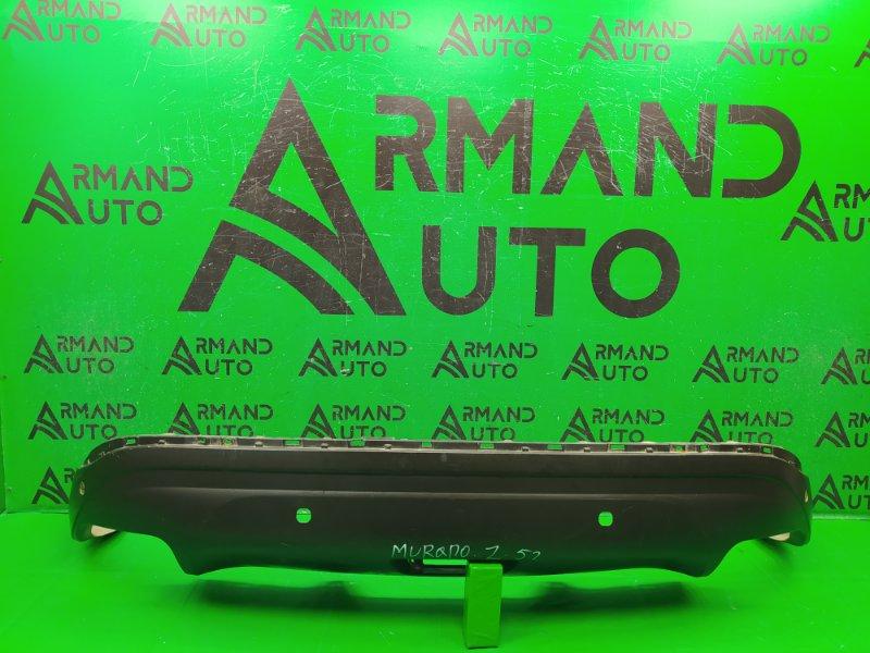 Юбка бампера Nissan Murano Z52 2014 задняя (б/у)