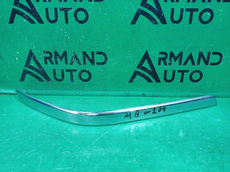 Накладка бампера Mercedes Glk X204 2008 задняя левая (б/у)