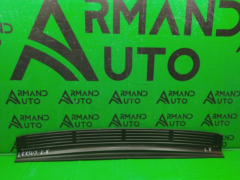 Накладка бампера Lexus Lx 3 2007 задняя (б/у)