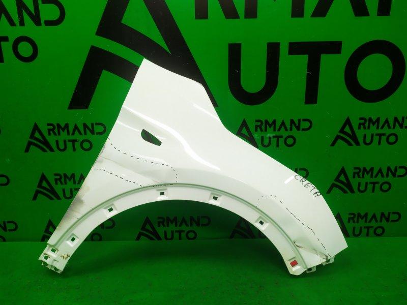 Крыло Hyundai Creta 2016 переднее правое (б/у)