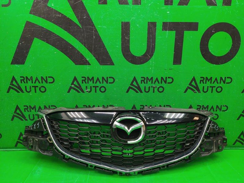 Решетка радиатора Mazda Cx-5 Cx5 1 2011 (б/у)