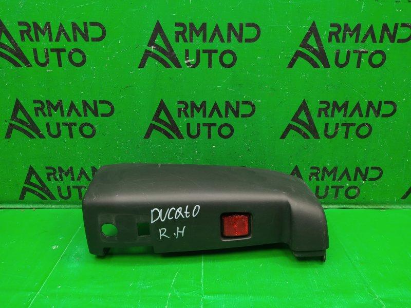 Накладка бампера Fiat Ducato 3 2006 задняя правая (б/у)